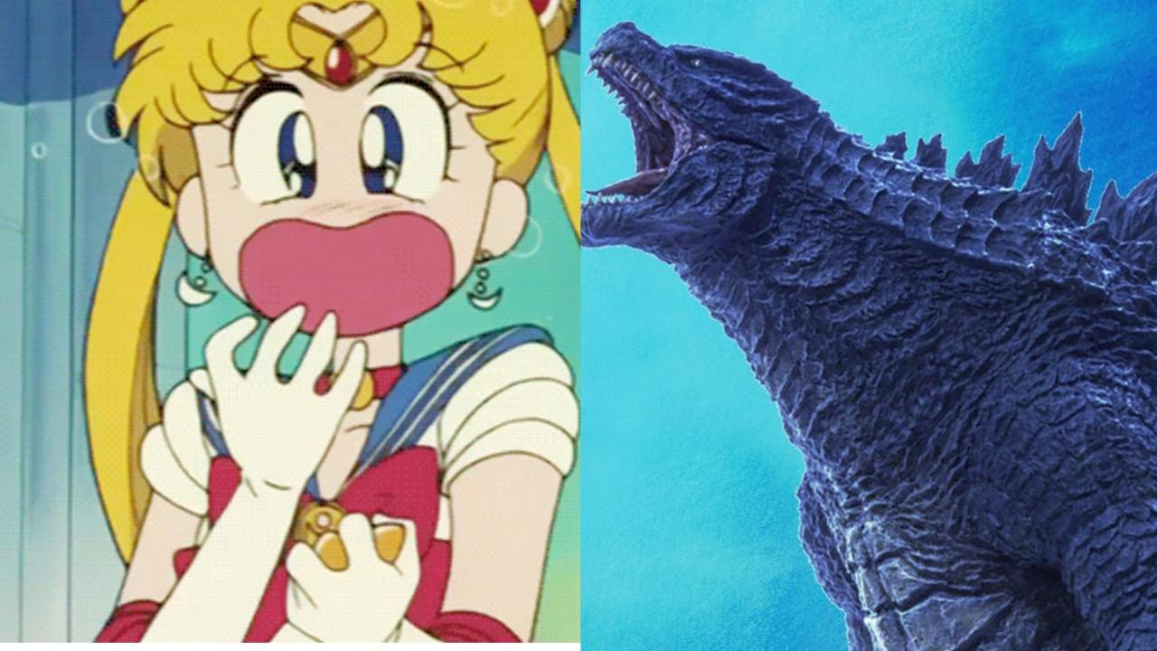 Sailor Moon y Godzilla