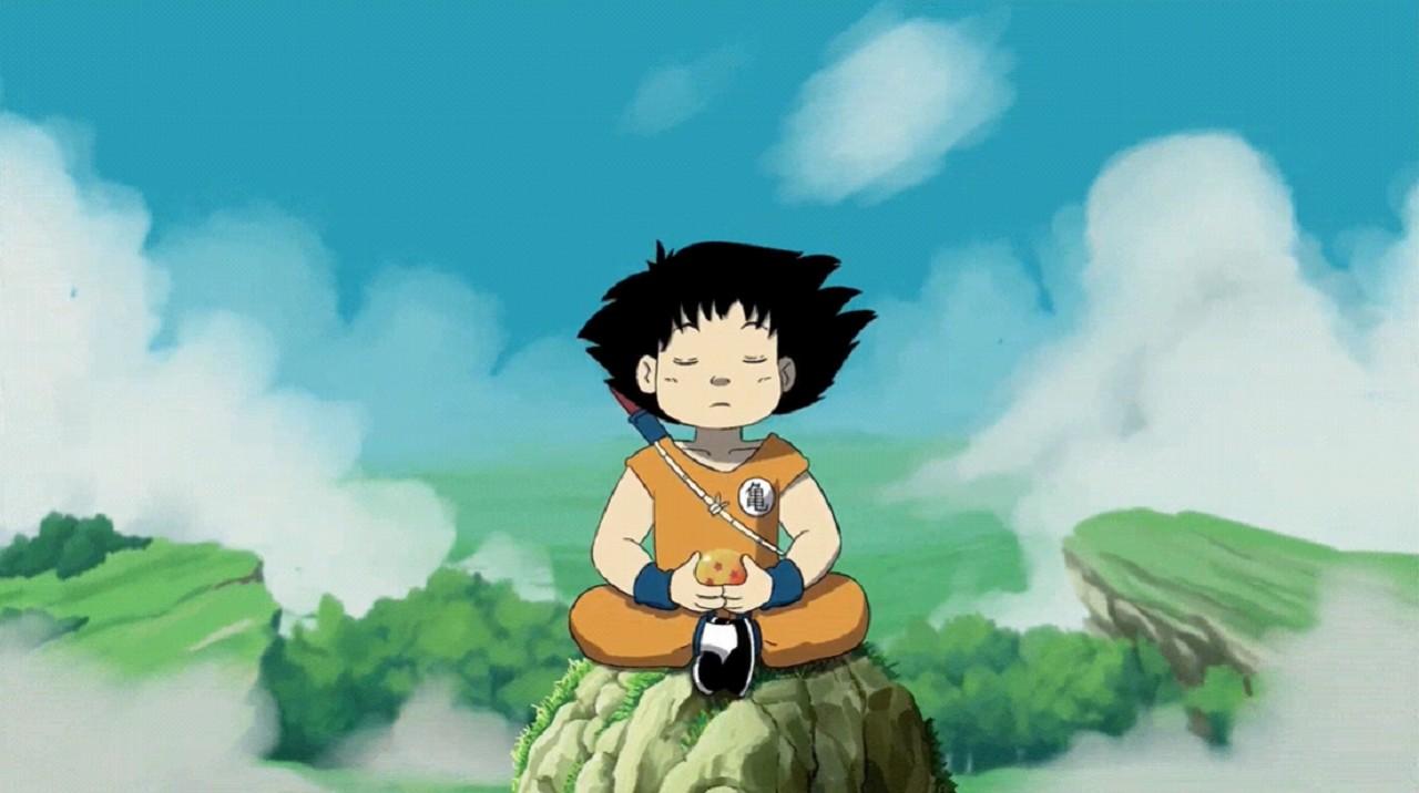 Goku Dragon Ball Estilo Animación Studio Ghibli