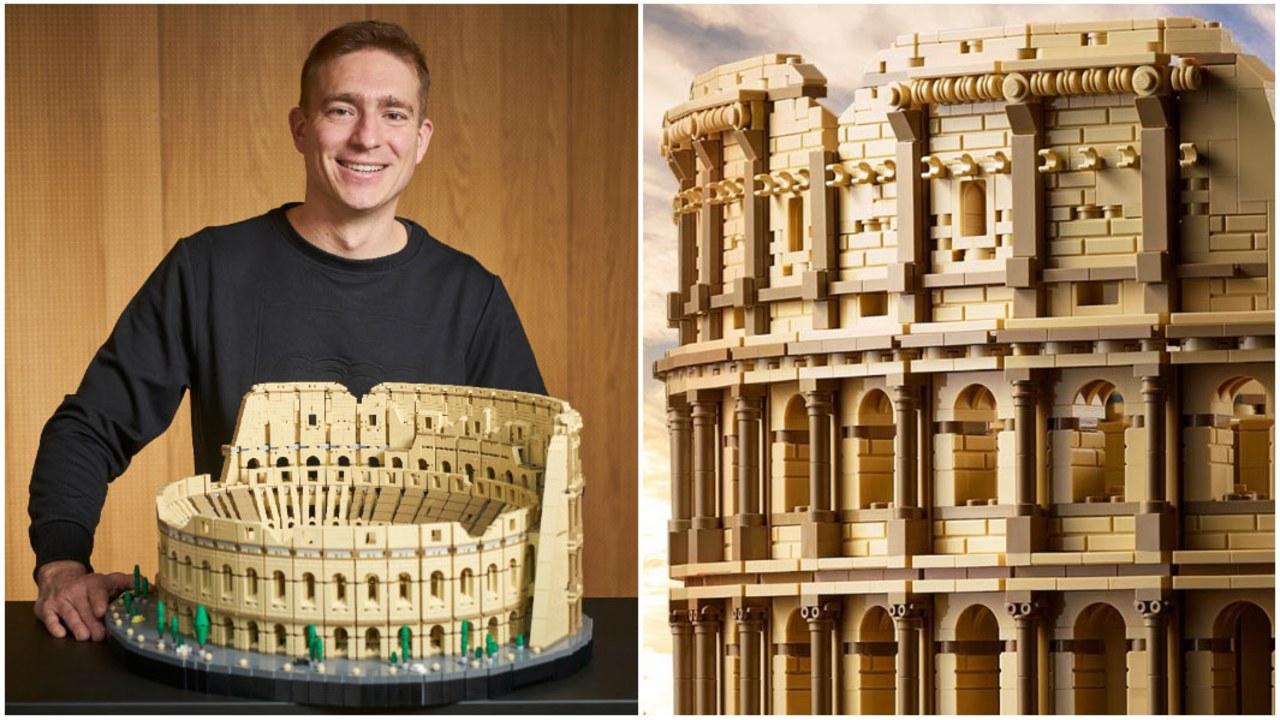 LEGO set Coliseo romano más grande Guinness