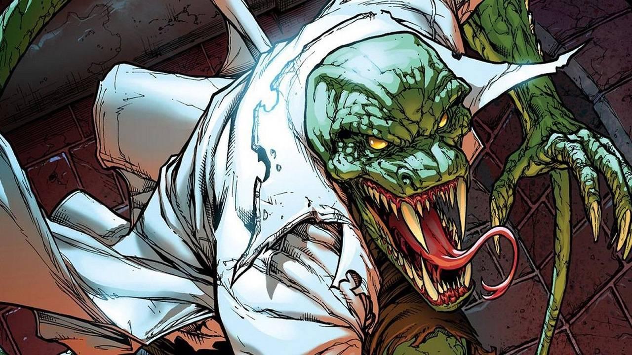 Lagarto Comics Spider-Man No Way Home Película