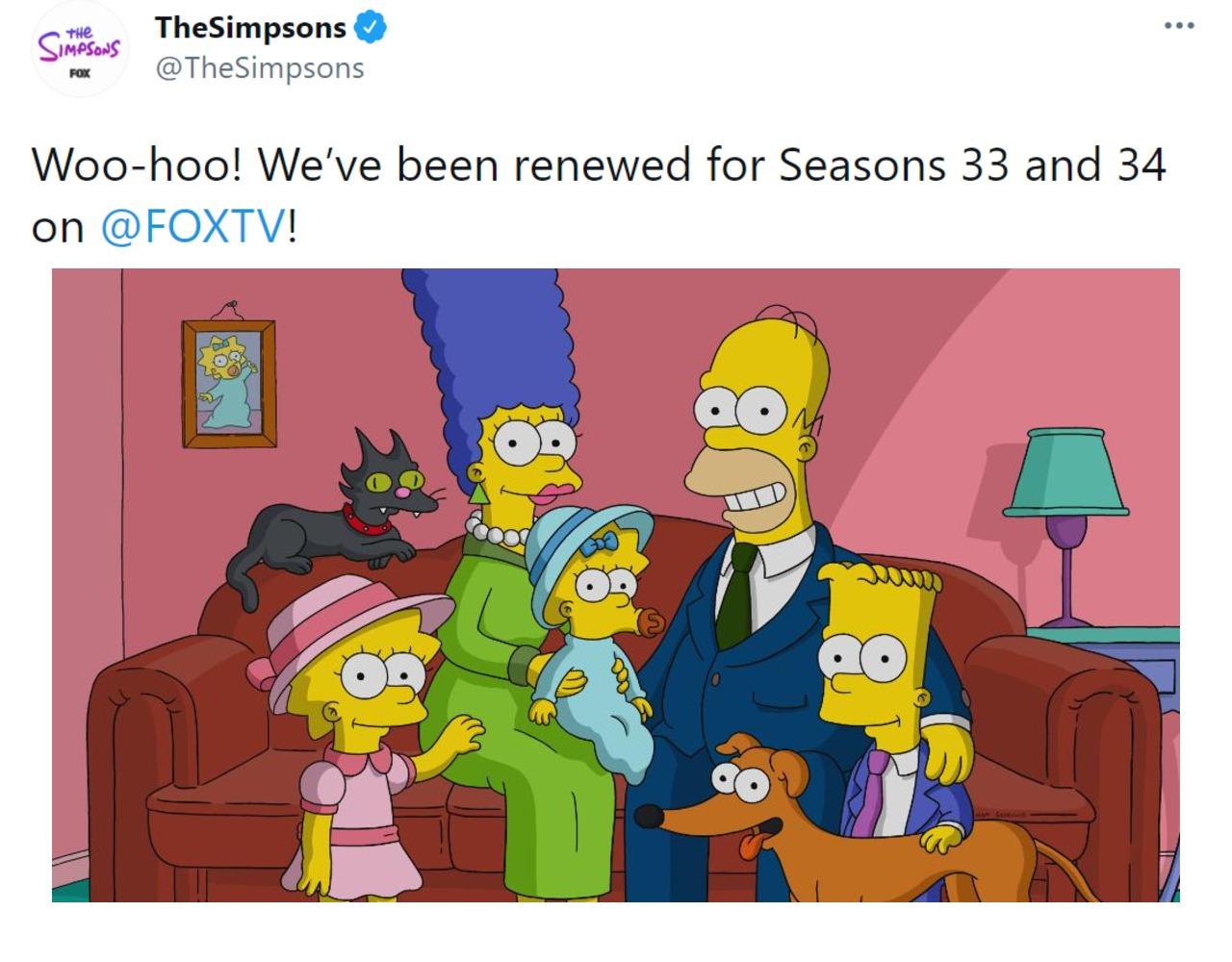 Los Simpson tendrán otras dos temporadas