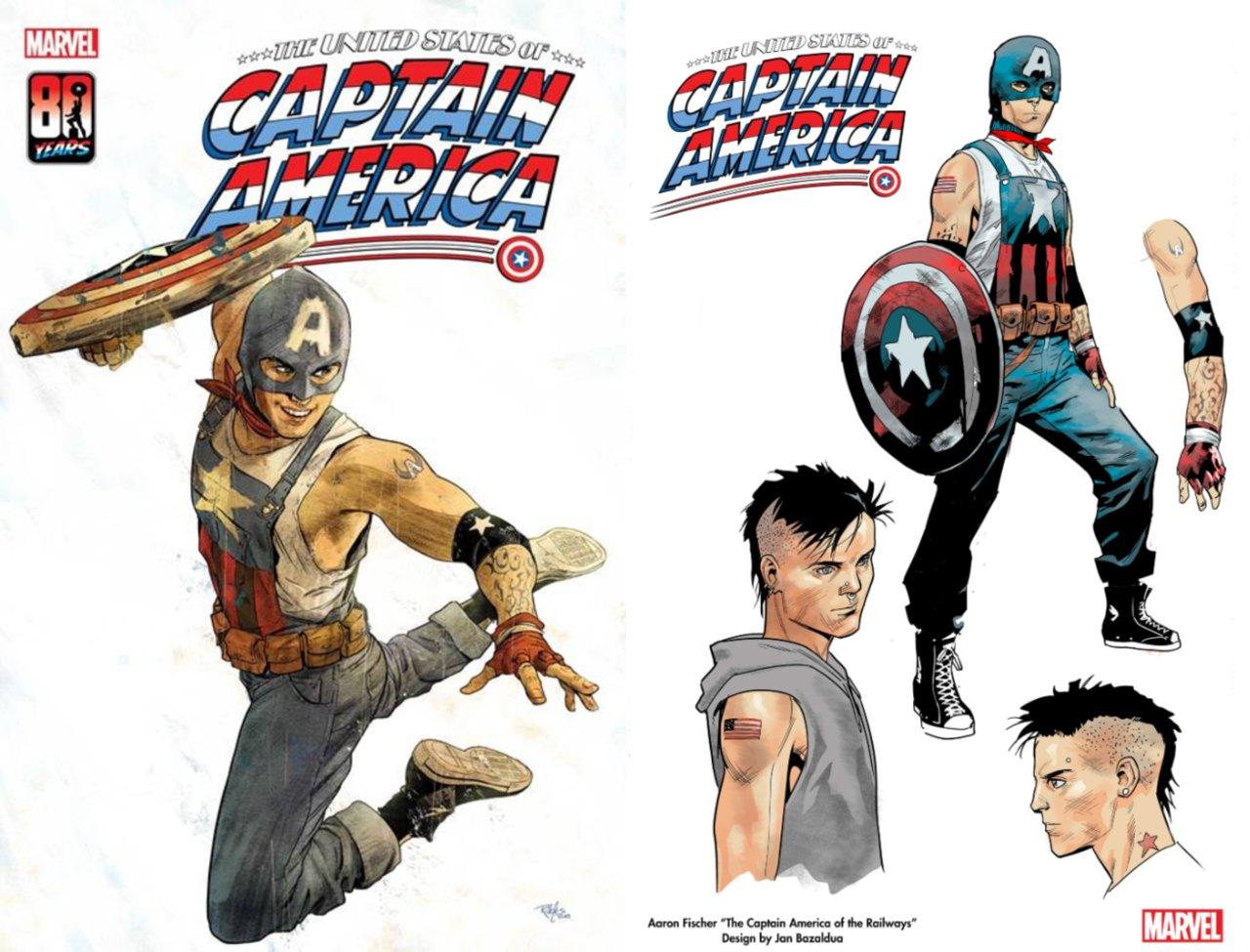 Marvel Capitán América superhéroe gay