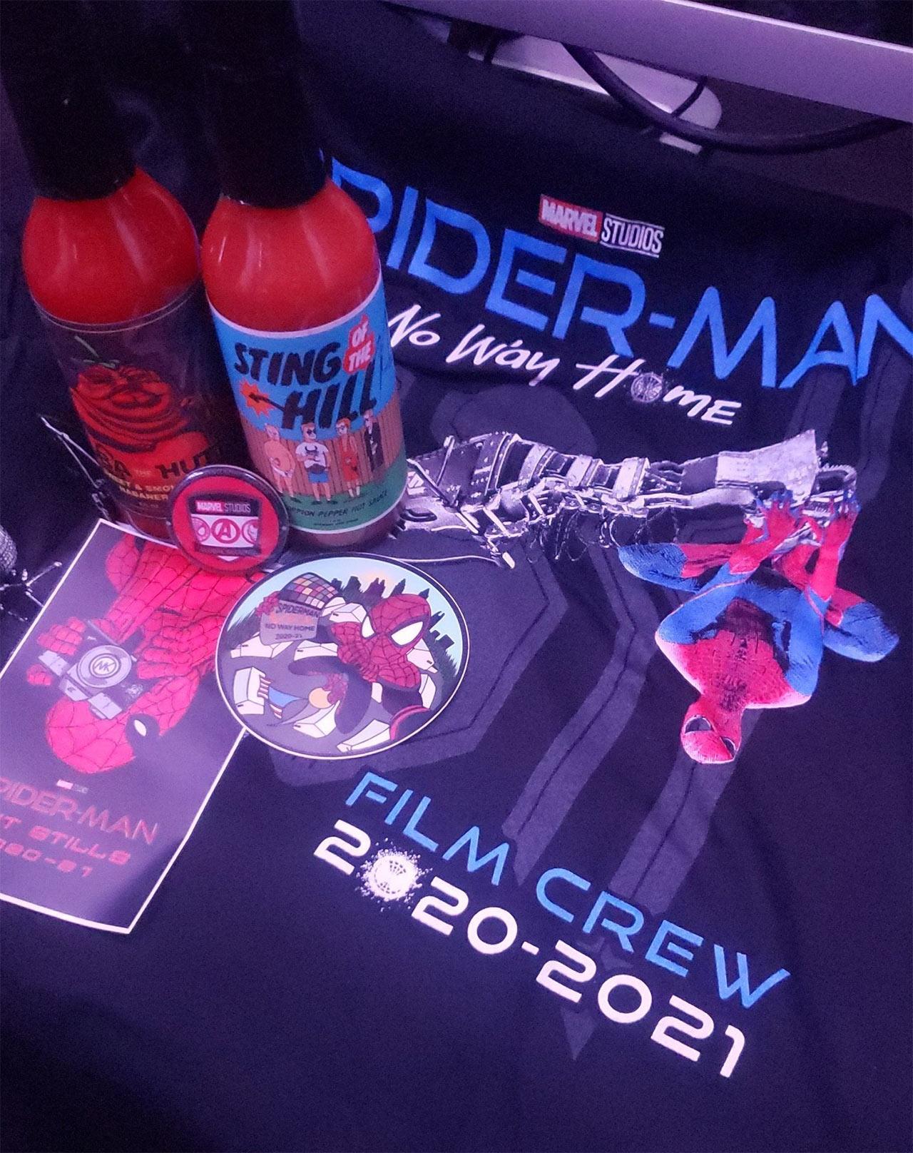 Andrew Garfield Spider-Man No Way Home filtración Foto