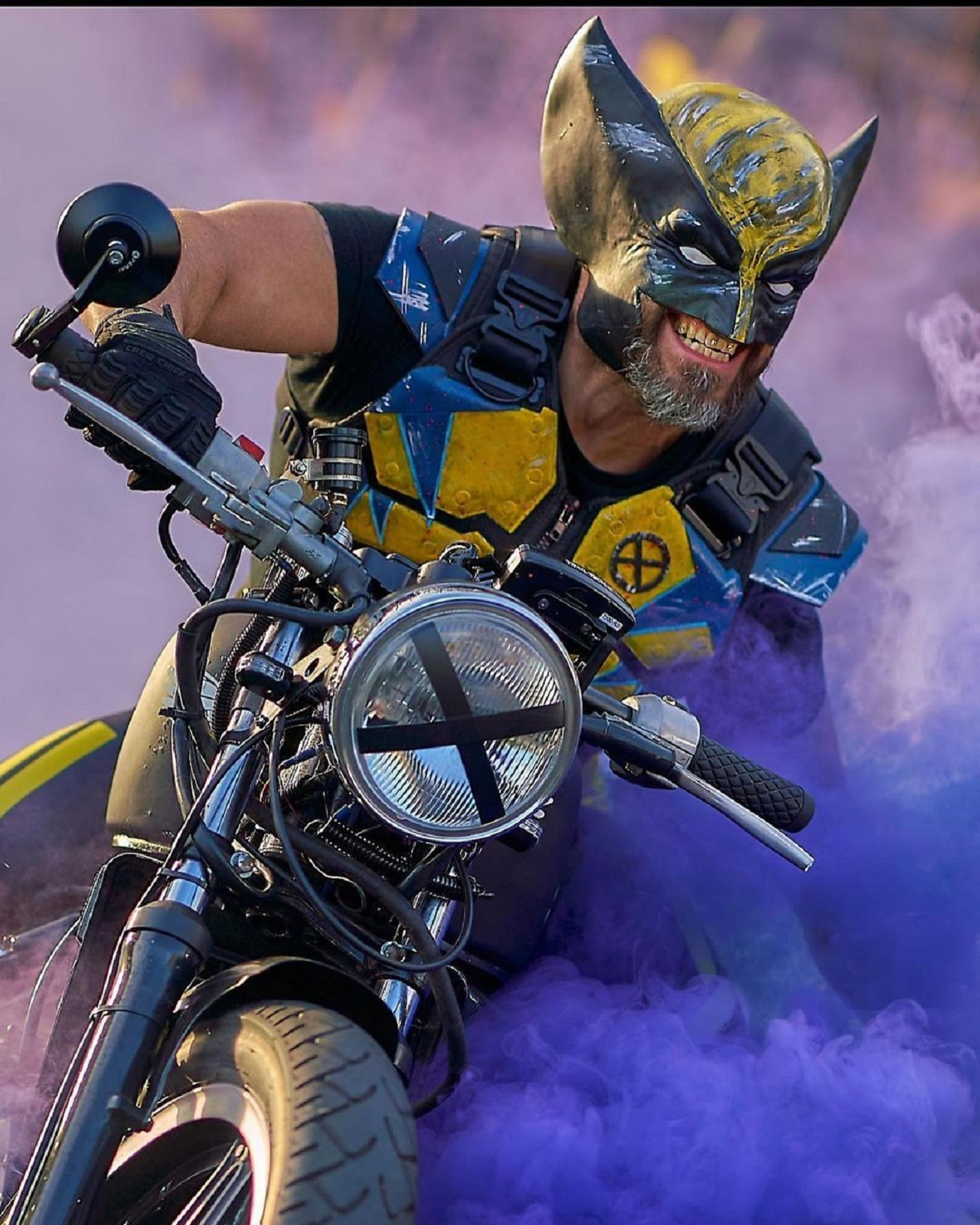 Cosplay Wolverine Marvel X Men