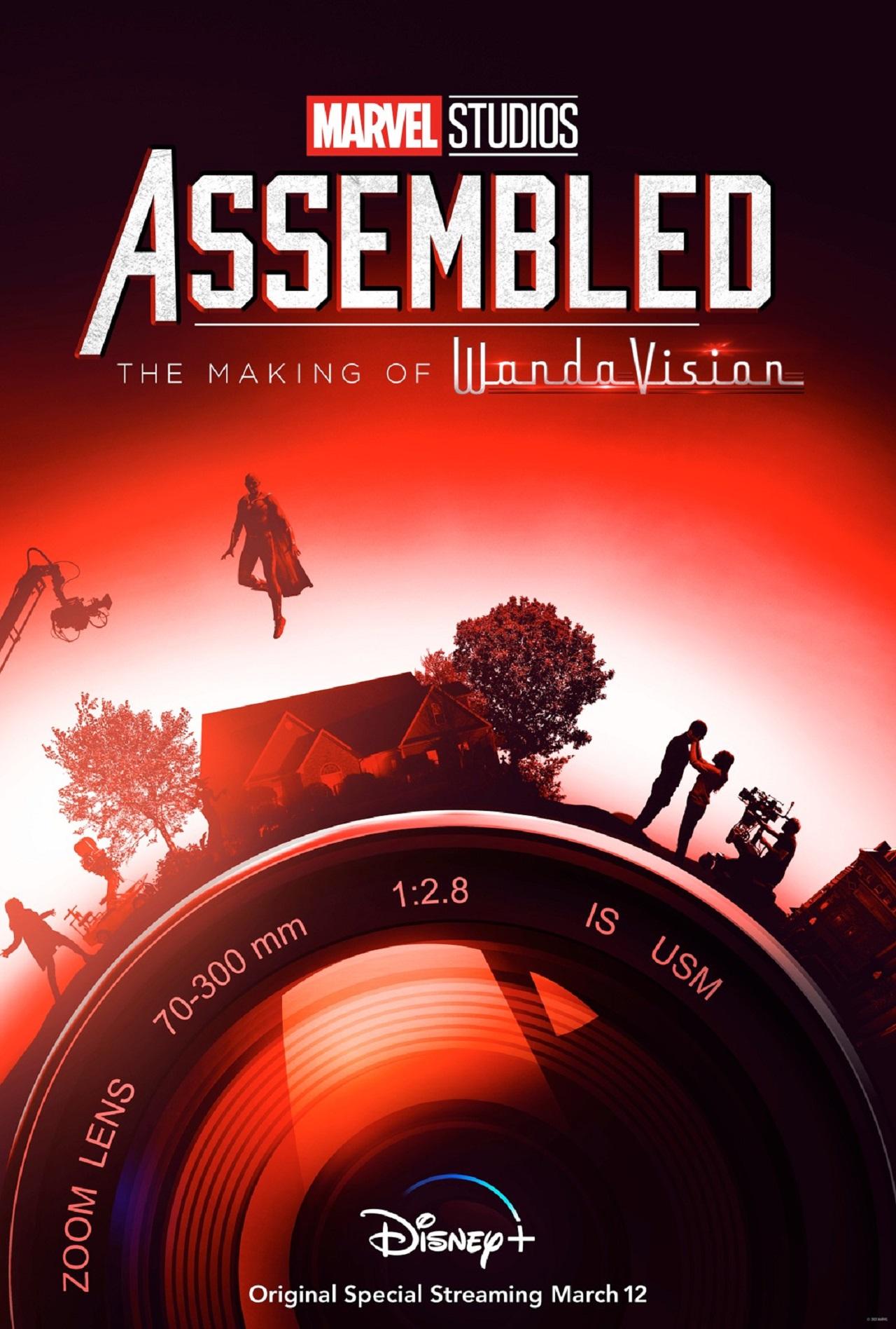 Marvel Assembled the making of de WandaVision prepara estreno en Disney+
