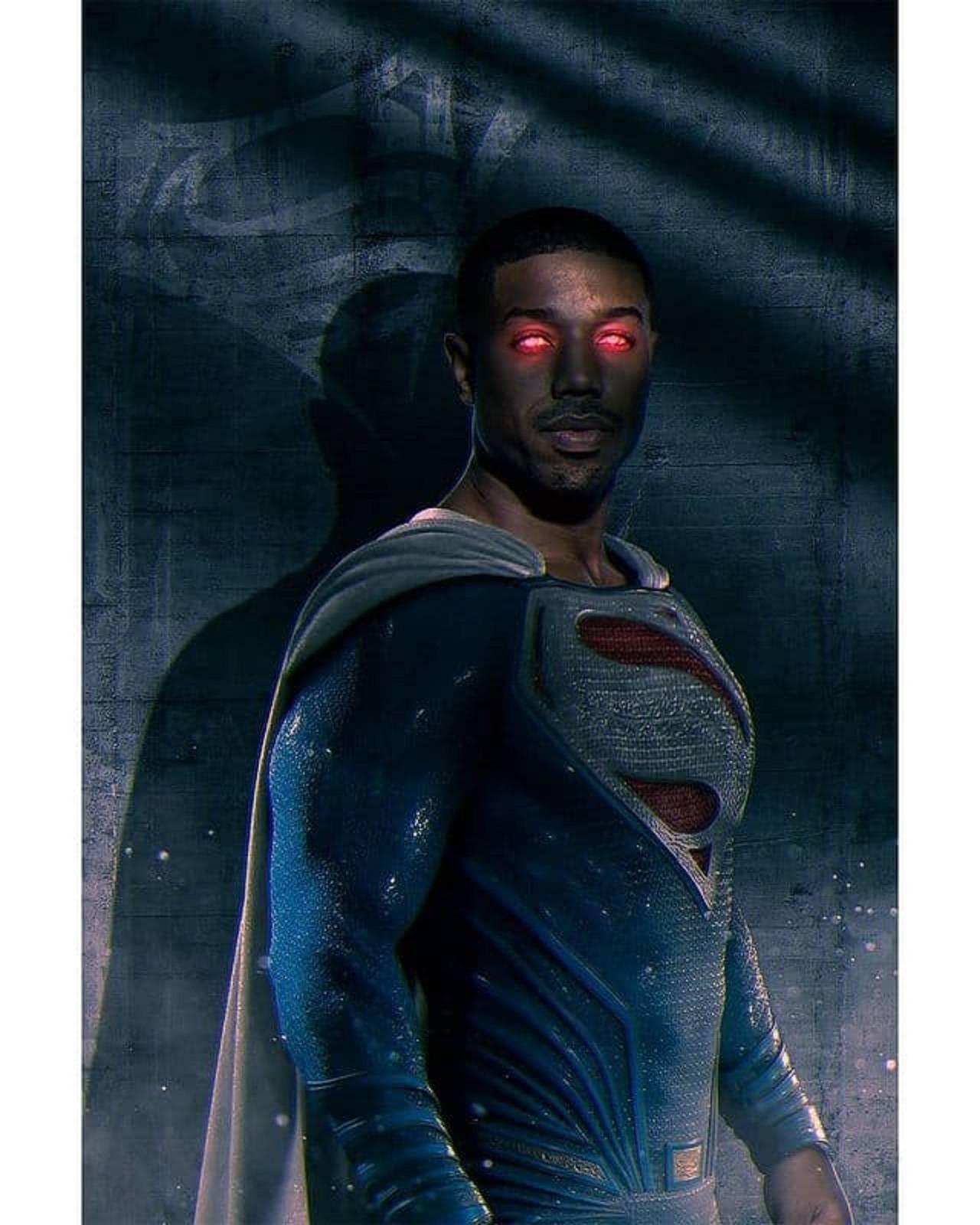Michael B. Jordan Superman