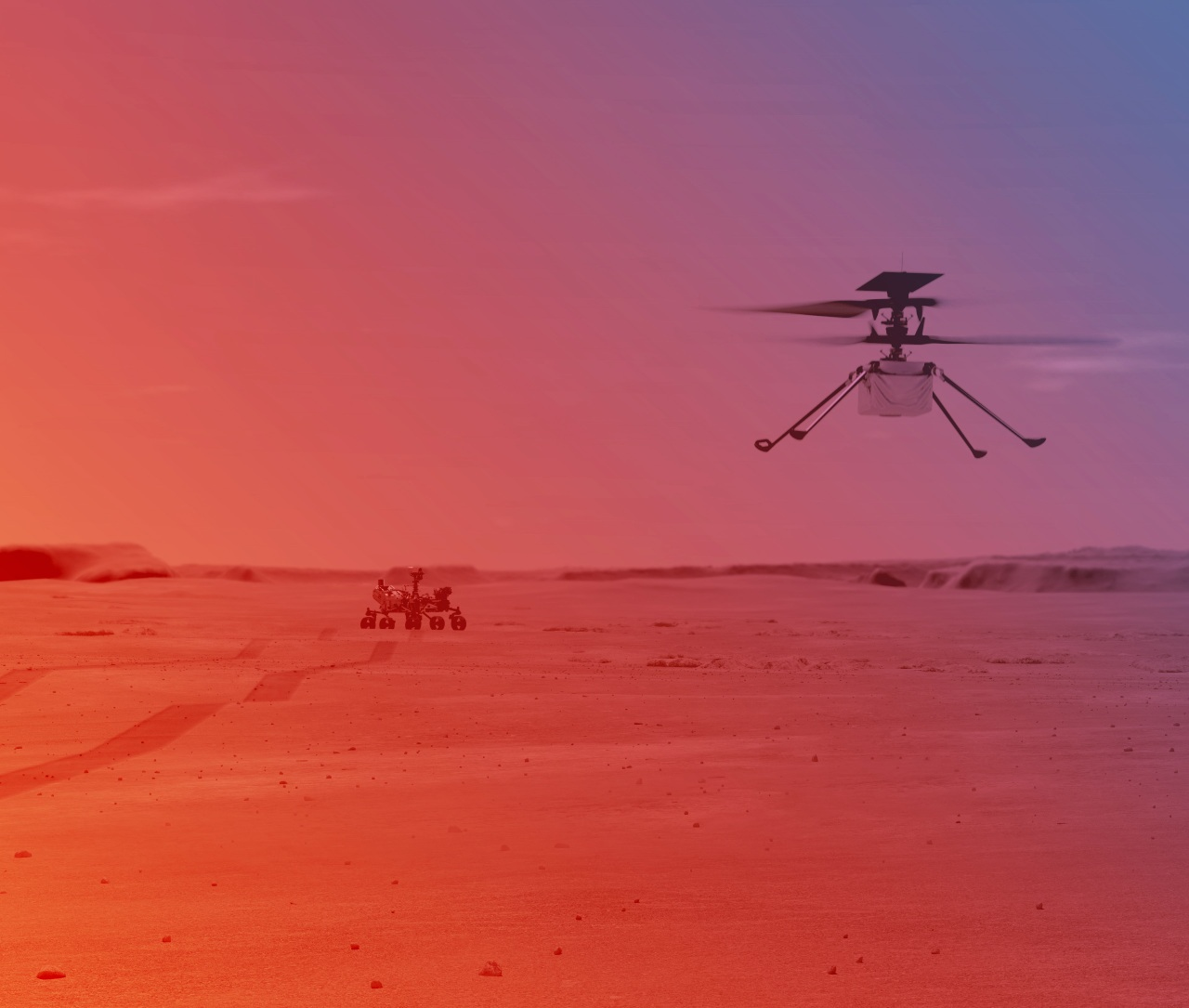 NASA helicóptero Ingenuity listo primer vuelo