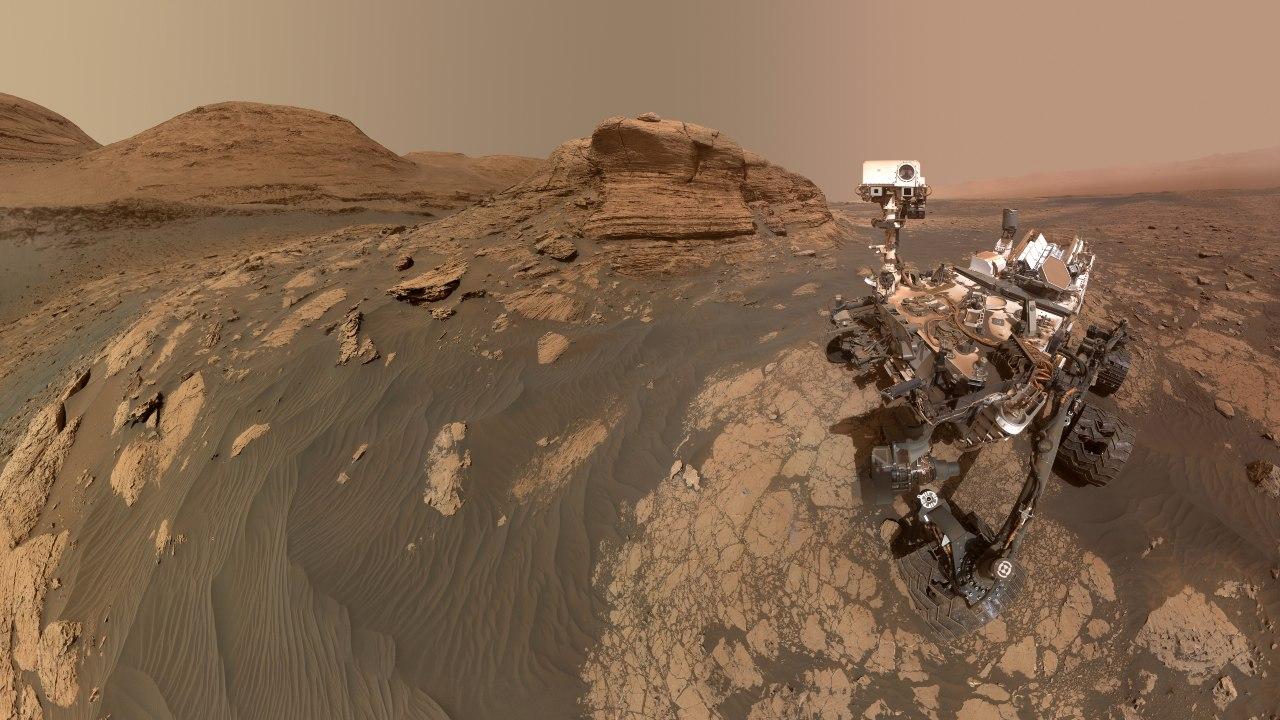NASA Curiosity selfie hallazgo Marte