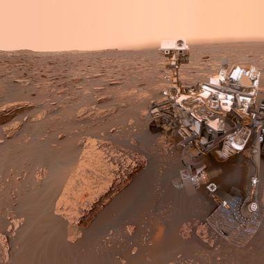 NASA selfie Curiosity Mont Mercou Marte