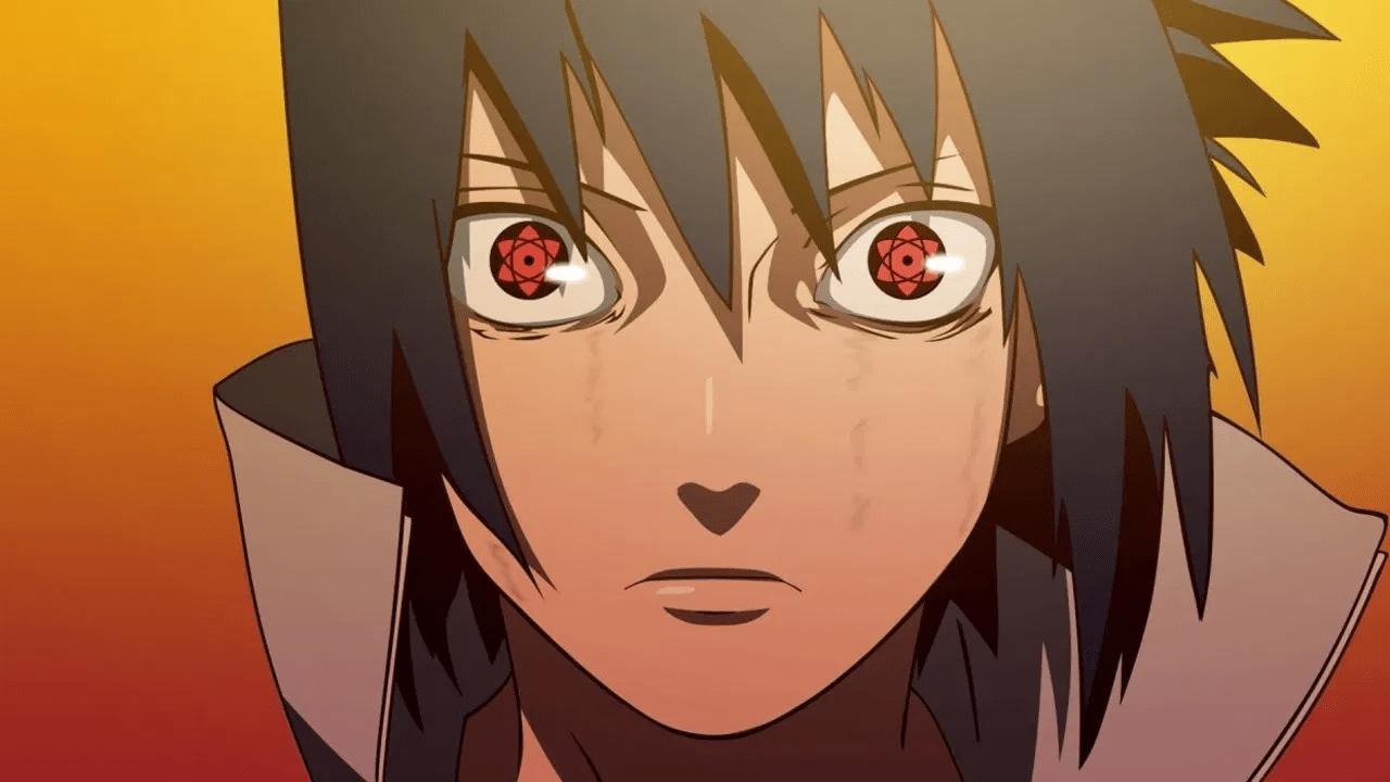 sharingan sasuke personaje naruto anime
