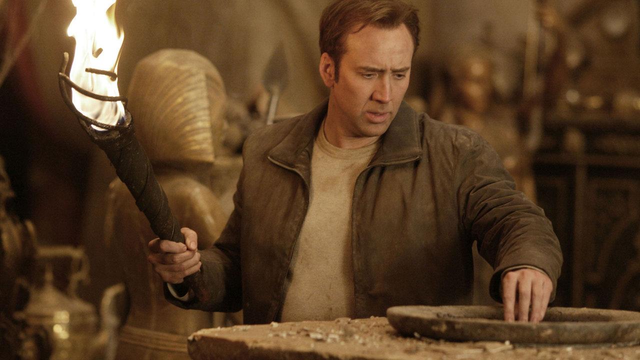 Serie de La Leyenda del Tesoro Perdido Disney+ Nicolas Cage