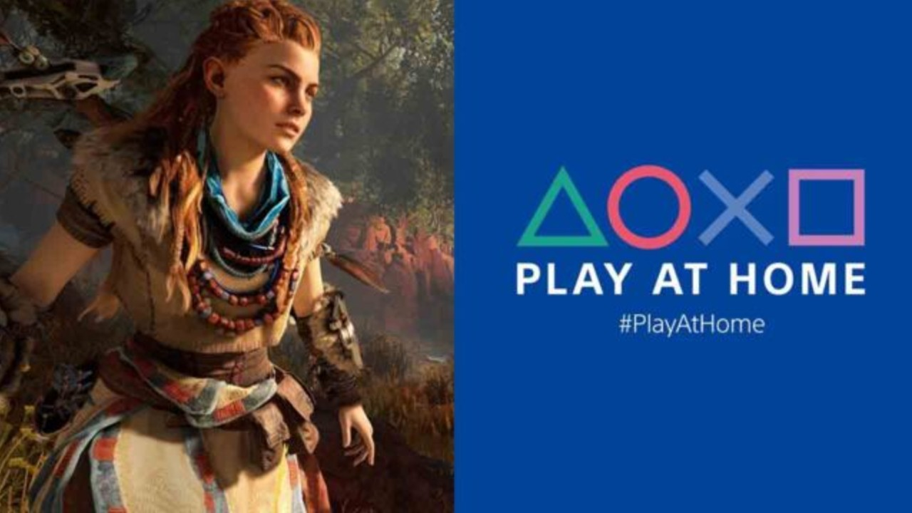 PS PLus Play At Home PlayStation
