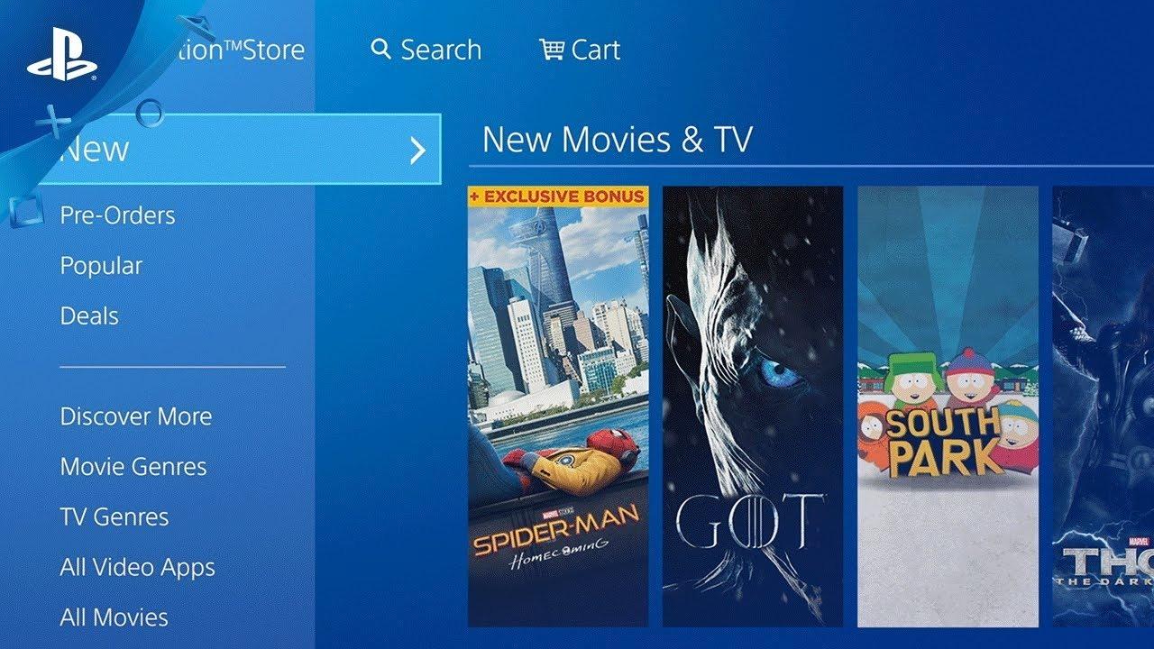 PlayStation Store cerrará compra y renta de películas