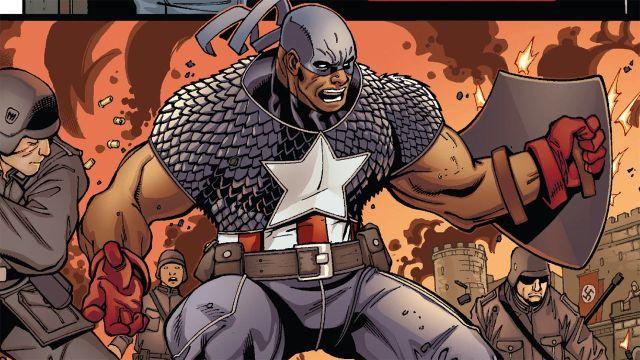 Isaiah The Falcon and The Winter Soldier Super Soldado Origen