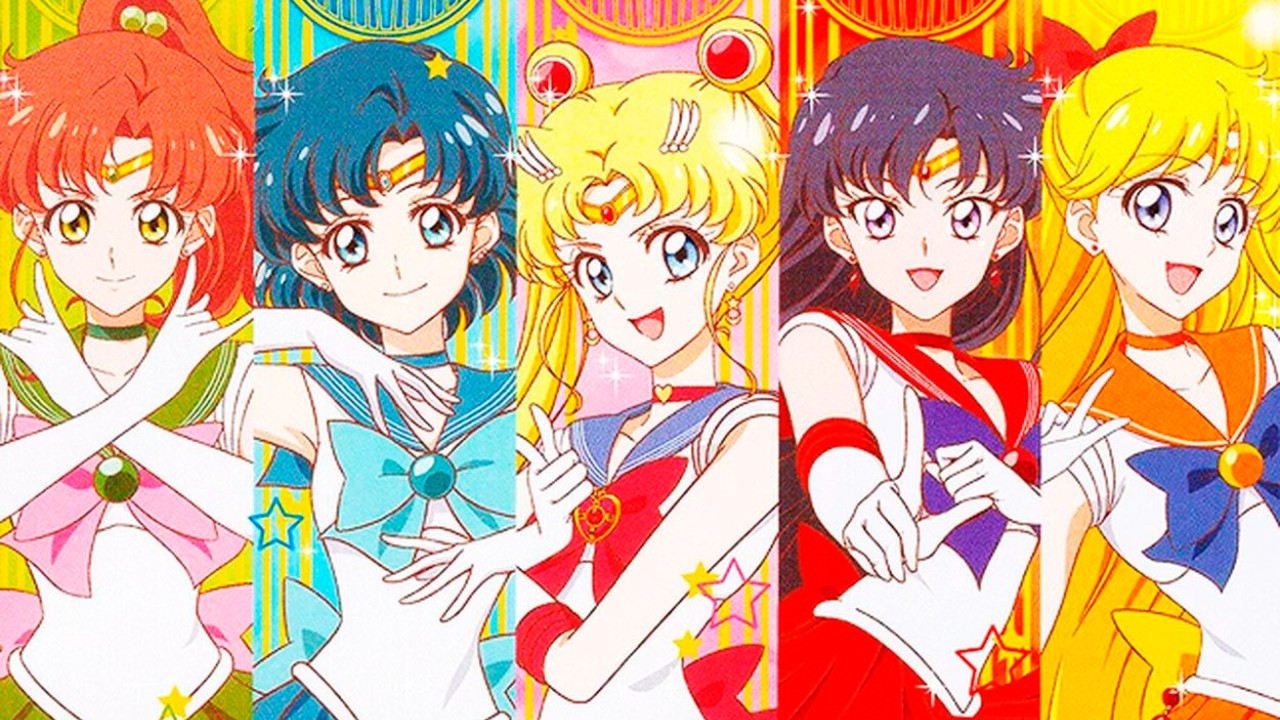 Sailor Scouts Crystal
