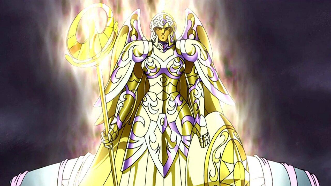 athena armadura divina saint seiya