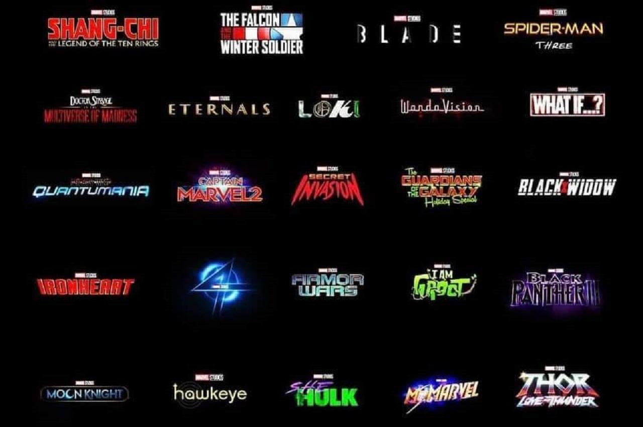 Series y películas de Marvel en desarrollo