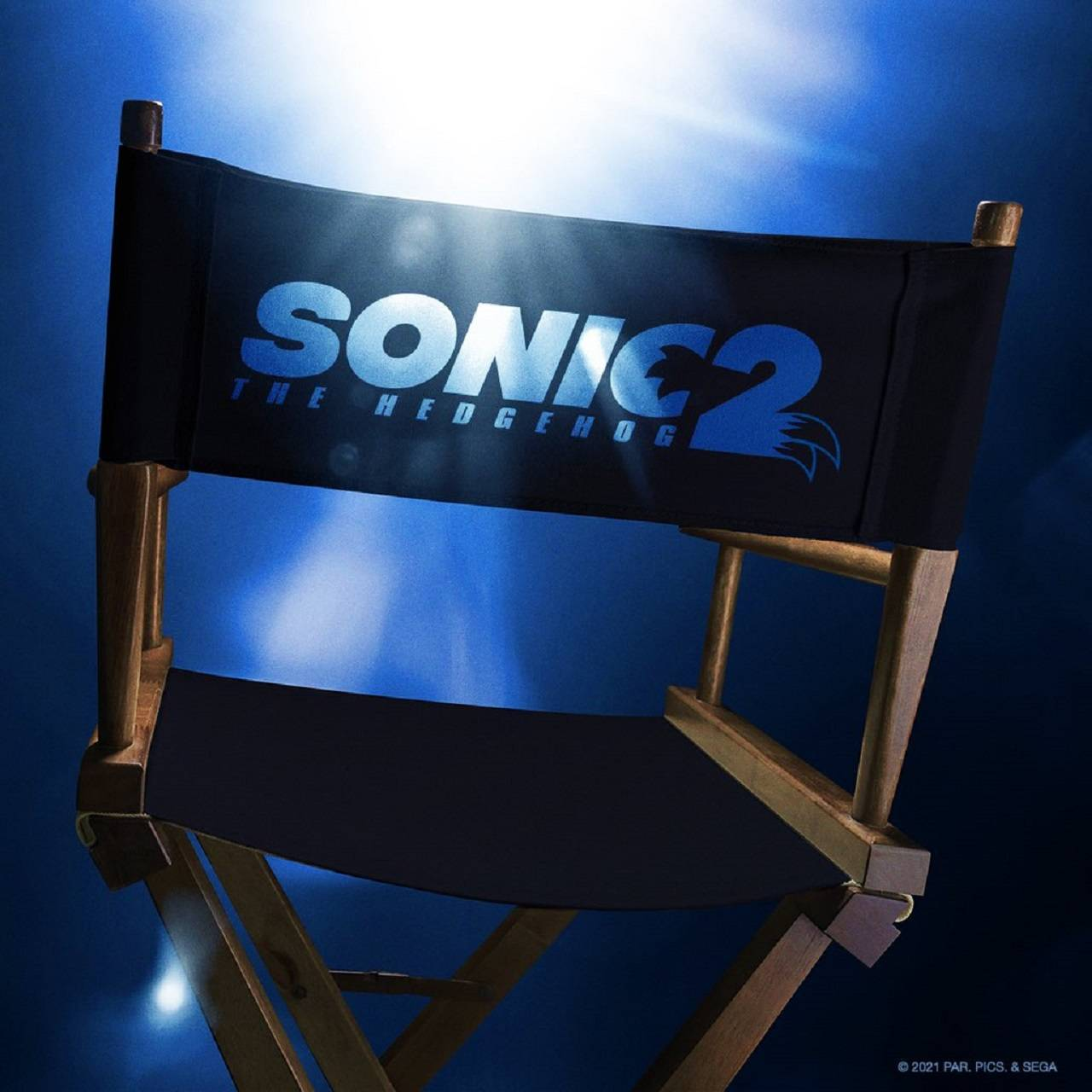 Película Sonic the Hedgehog 2 Logotipo Título oficial