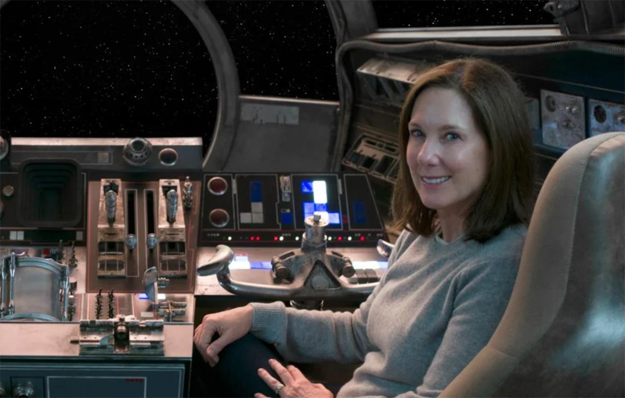 Kathleen Kennedy Star Wars Halcon Milenario Lucasfilm
