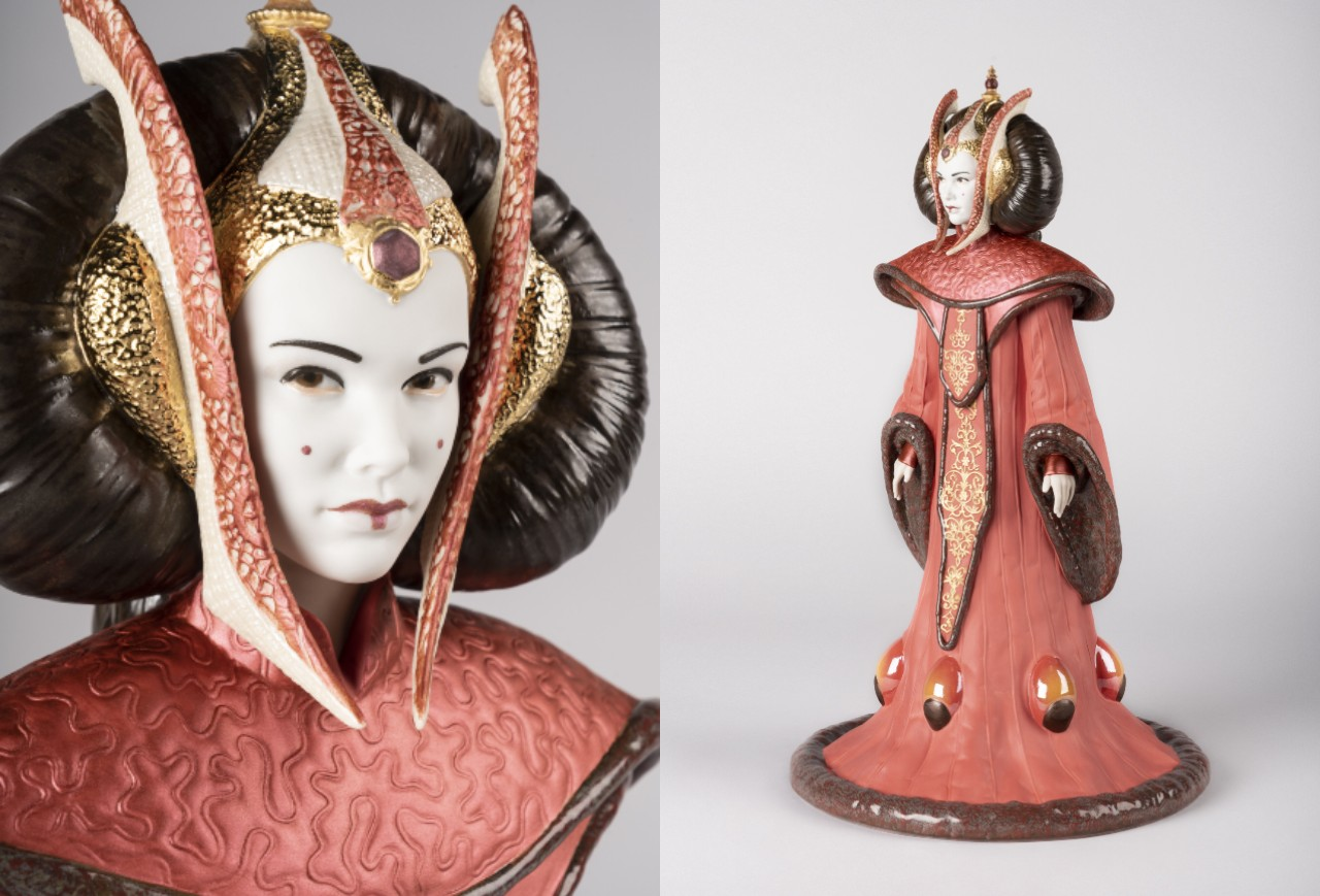 Star Wars Lladró colección figuras porcelana
