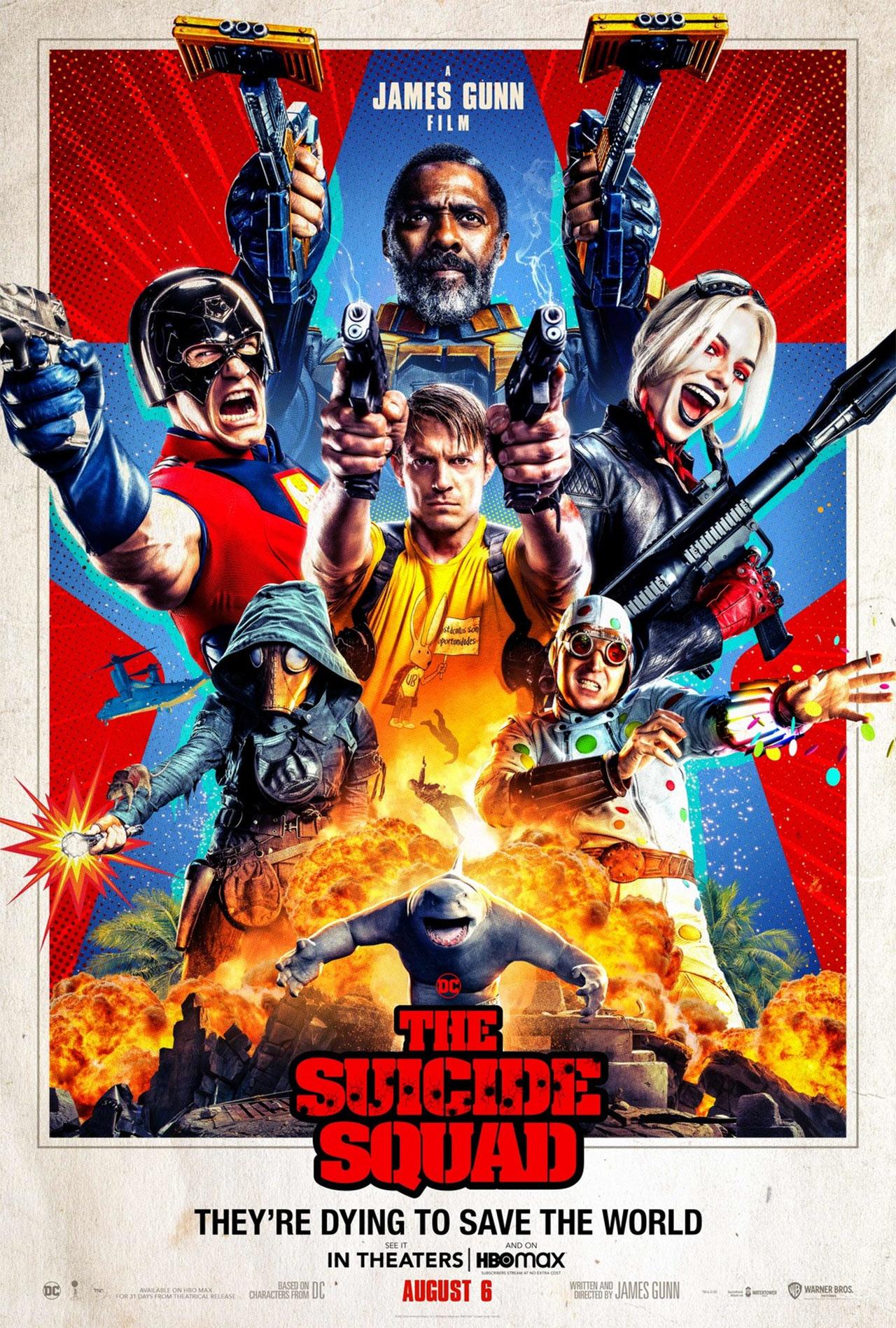 The Suicide Squad James Gunn DC Comics Poster