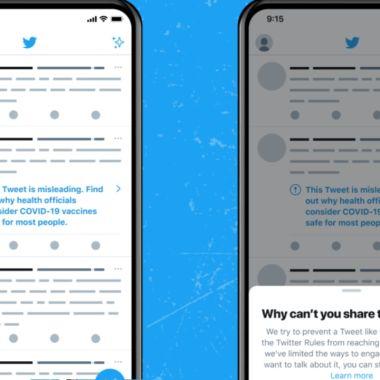 Twitter bloqueará cuentas para combatir desinformación de las vacunas