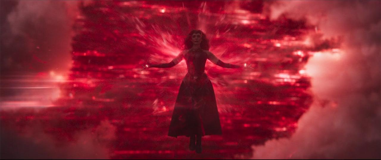 Wanda Bruja Escarlata absorbe poderes de Agatha Harkness
