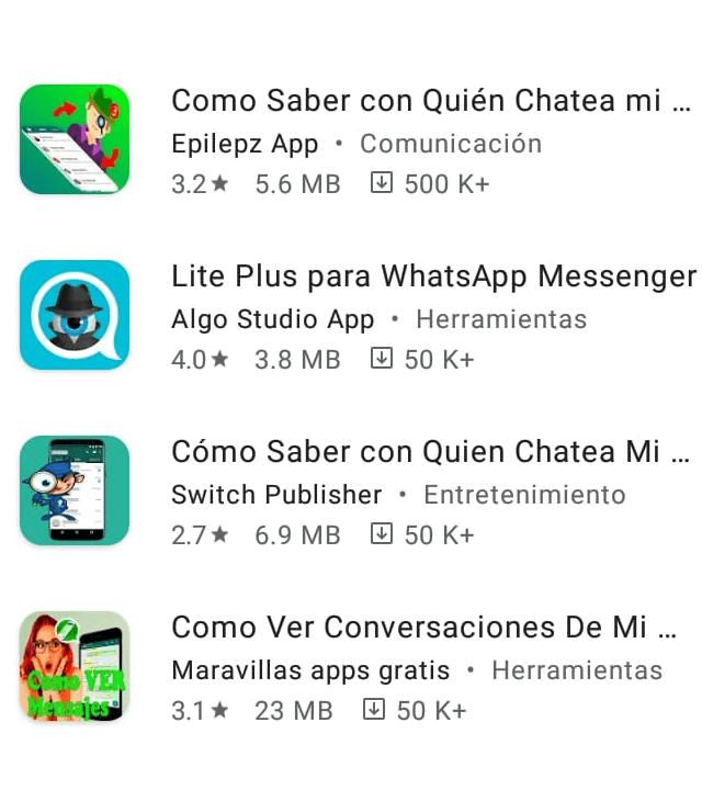 whatsapp espiar app play store