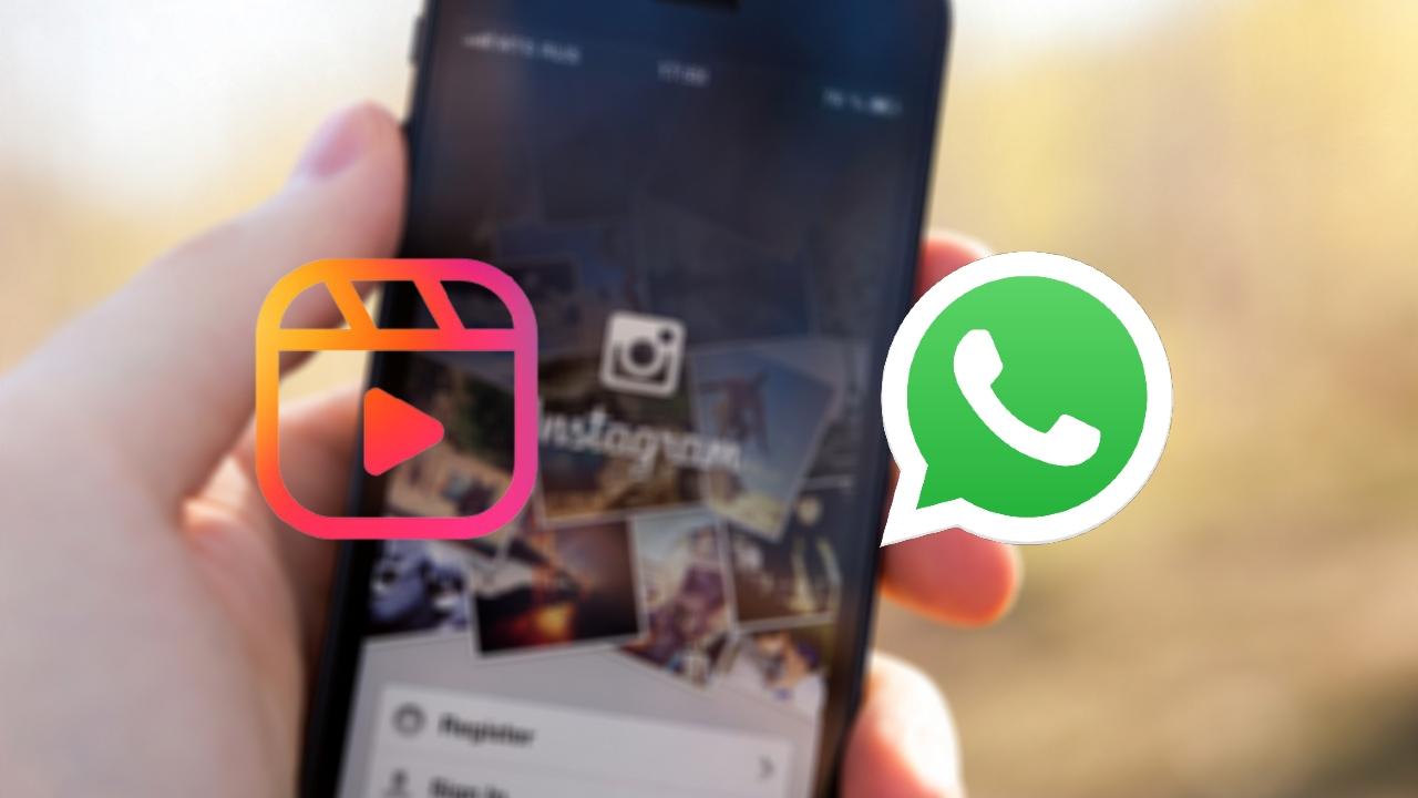 WhatsApp Reel Instagram llegan conversaciones