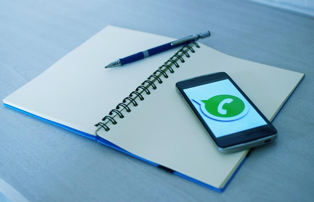 whatsapp y libreta