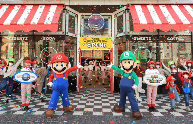 Super Nintendo World continua abierto con restricciones.