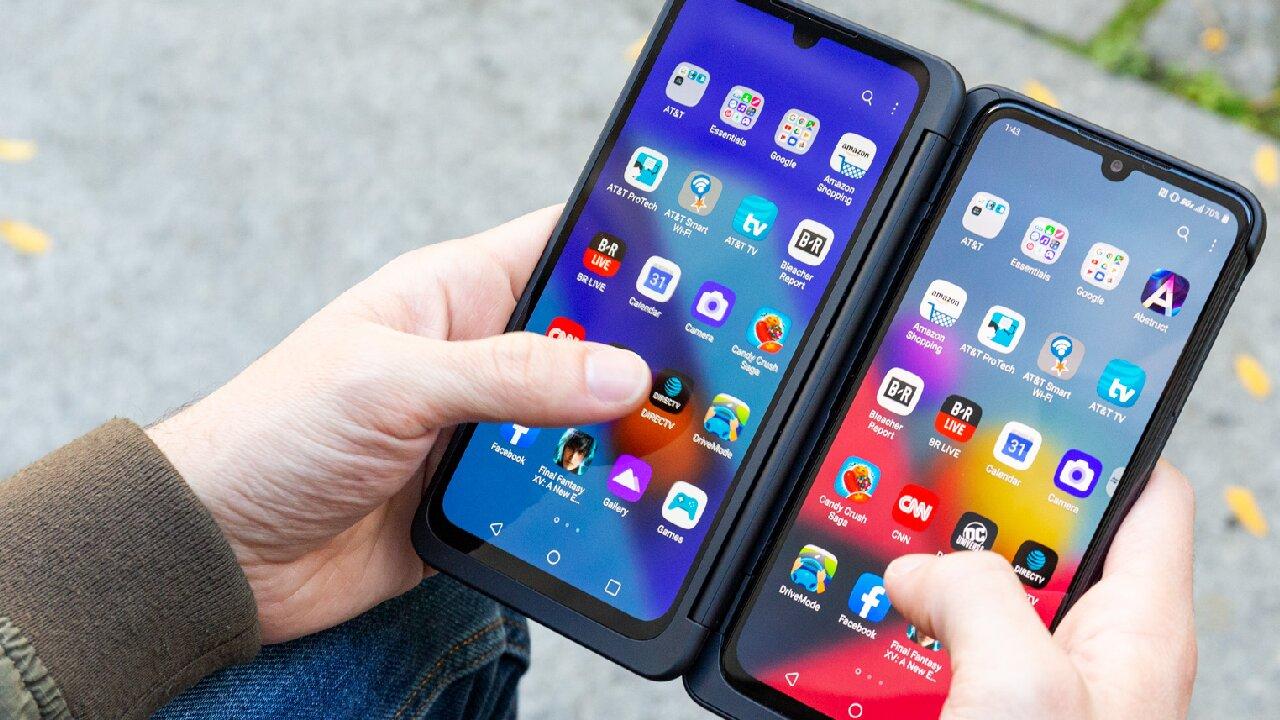 lg dual screen último celular