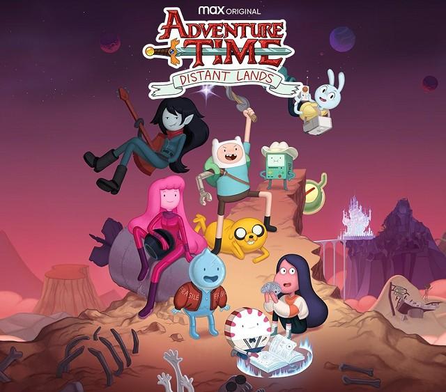 Hora de Aventura Adventure Time: Distant Lands Jake el Perro Finn HBO Max