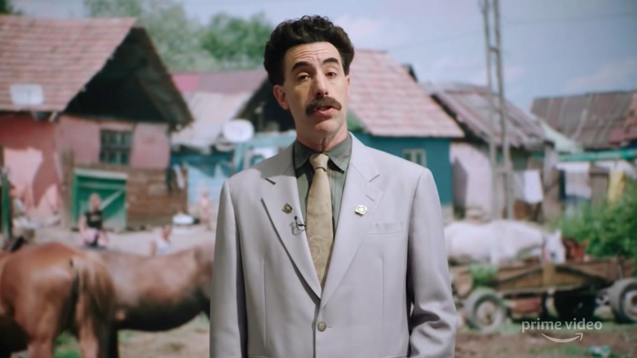 Borat 2 Sacha Baron Cohen Amazon Prime Video Snyder Cut