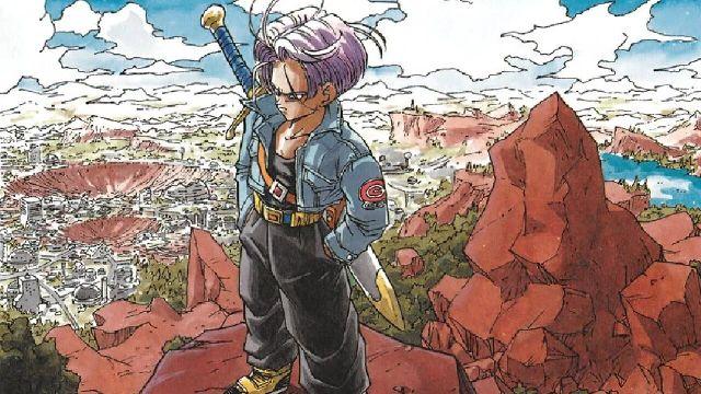 trunks futuro dragon ball manga