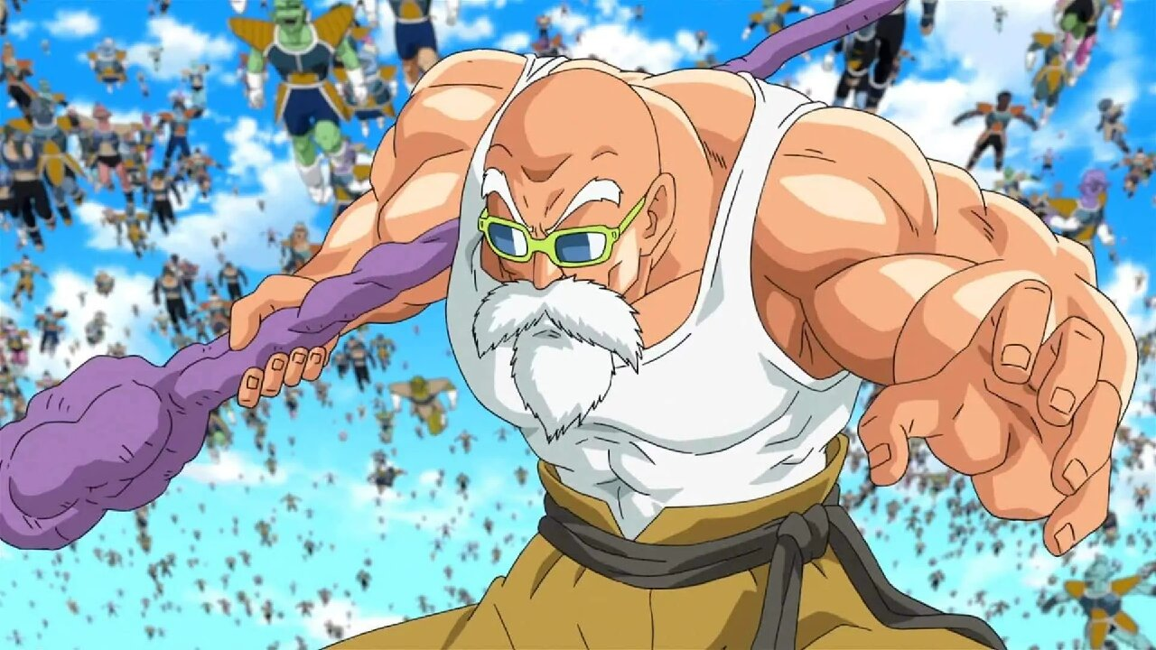 dragon ball ranking humanos roshi