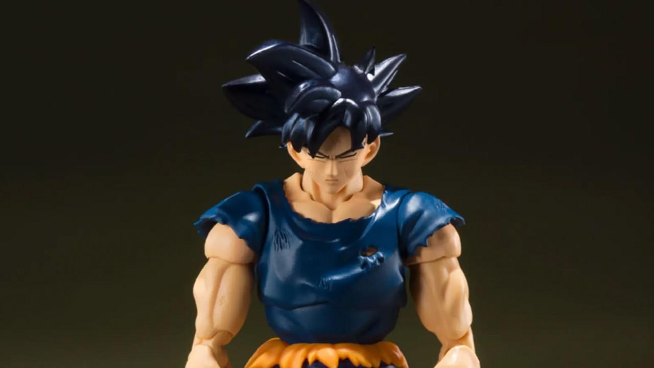 Dragon Ball Goku Figura de Colección Rara Ultra Instict Accidente Marítimo