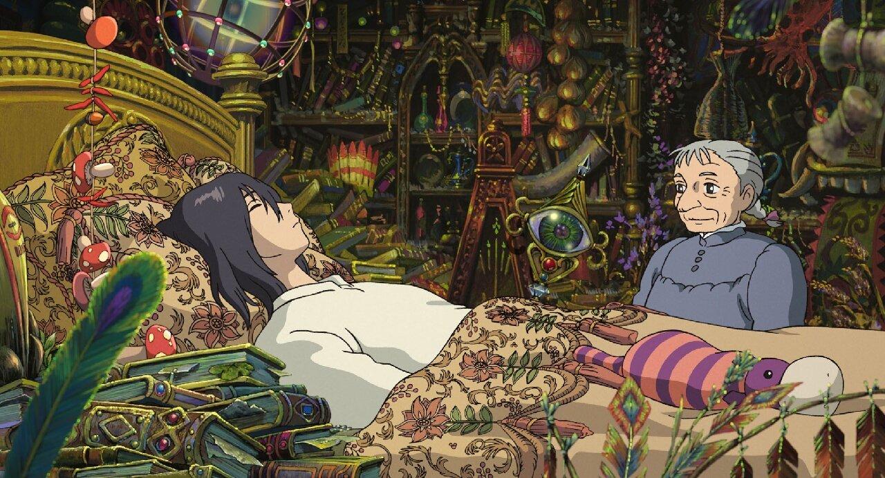 castillo vagabundo ghibli película anime taquilla