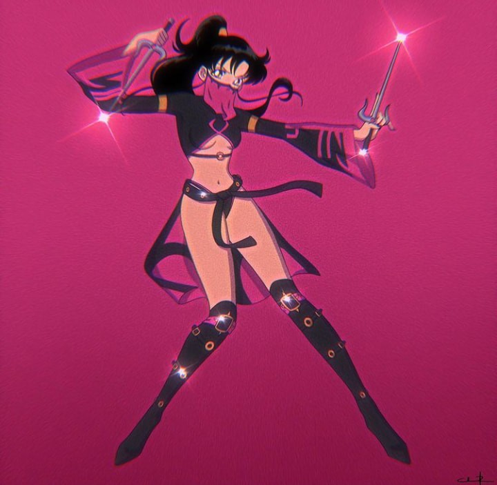 Fan Art: Artista realiza un creativo crossover entre Sailor Moon y Mortal Kombat