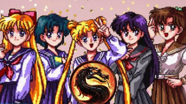 Fan Art: Artista realiza un creativo crossover entre Sailor Moon y Mortal Kombat