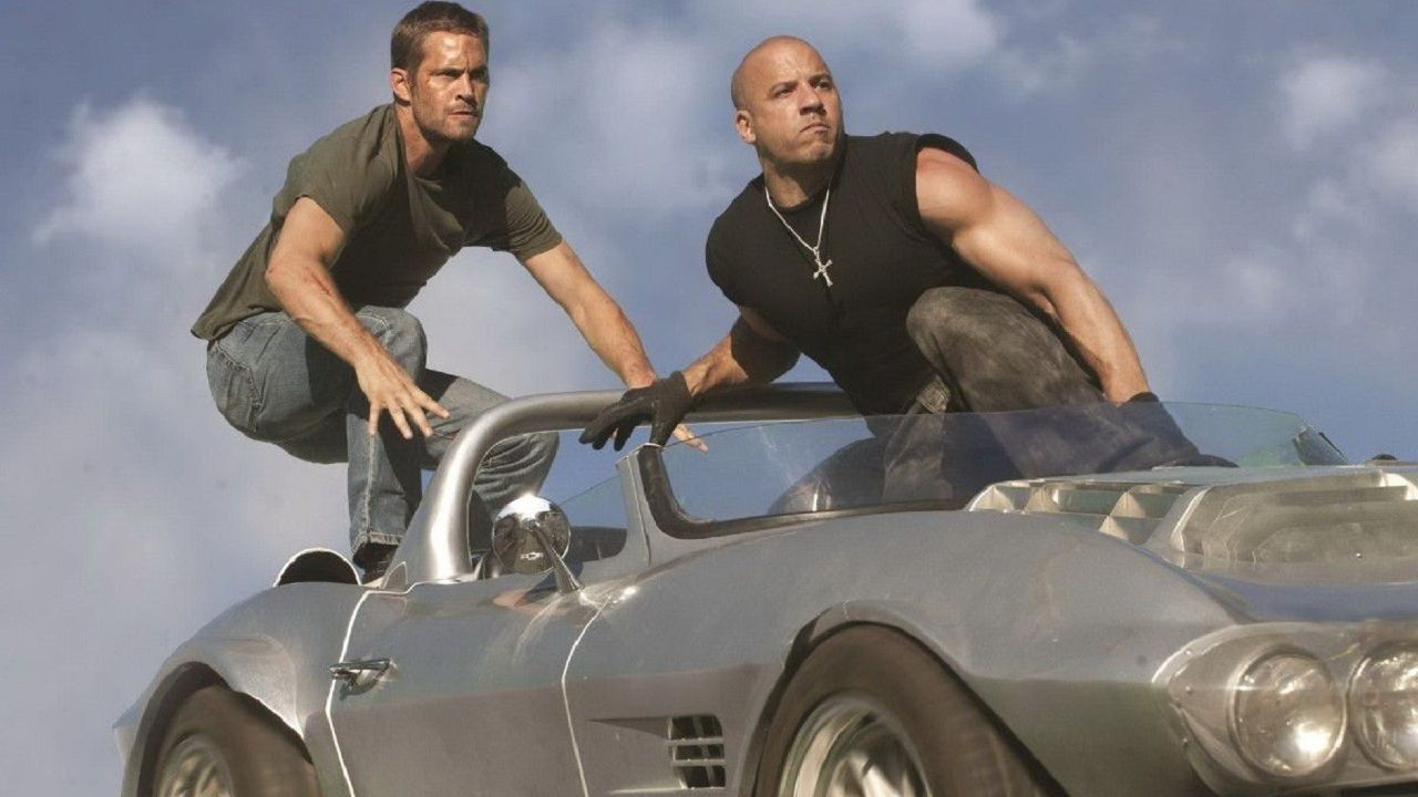 Paul Walker Vin Diesel Fast and Furious Brian O´Conner