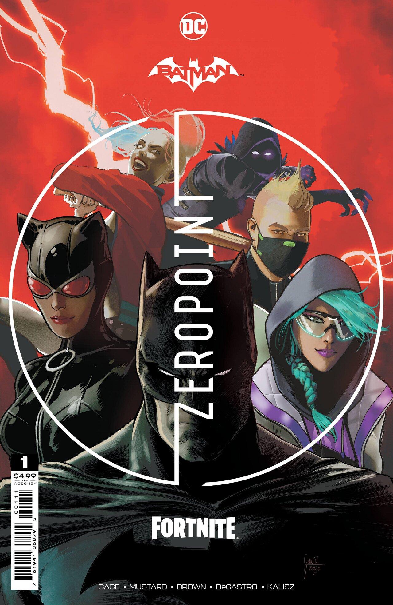 batman dc comics fortnite epic game