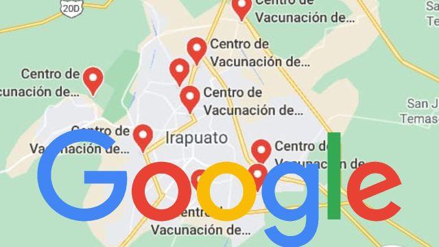 Google actualiza Maps para poder localizar los centros de vacunación contra el COVID en México