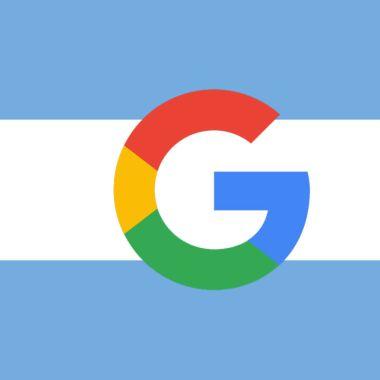 Google Argentina dominio desaparece
