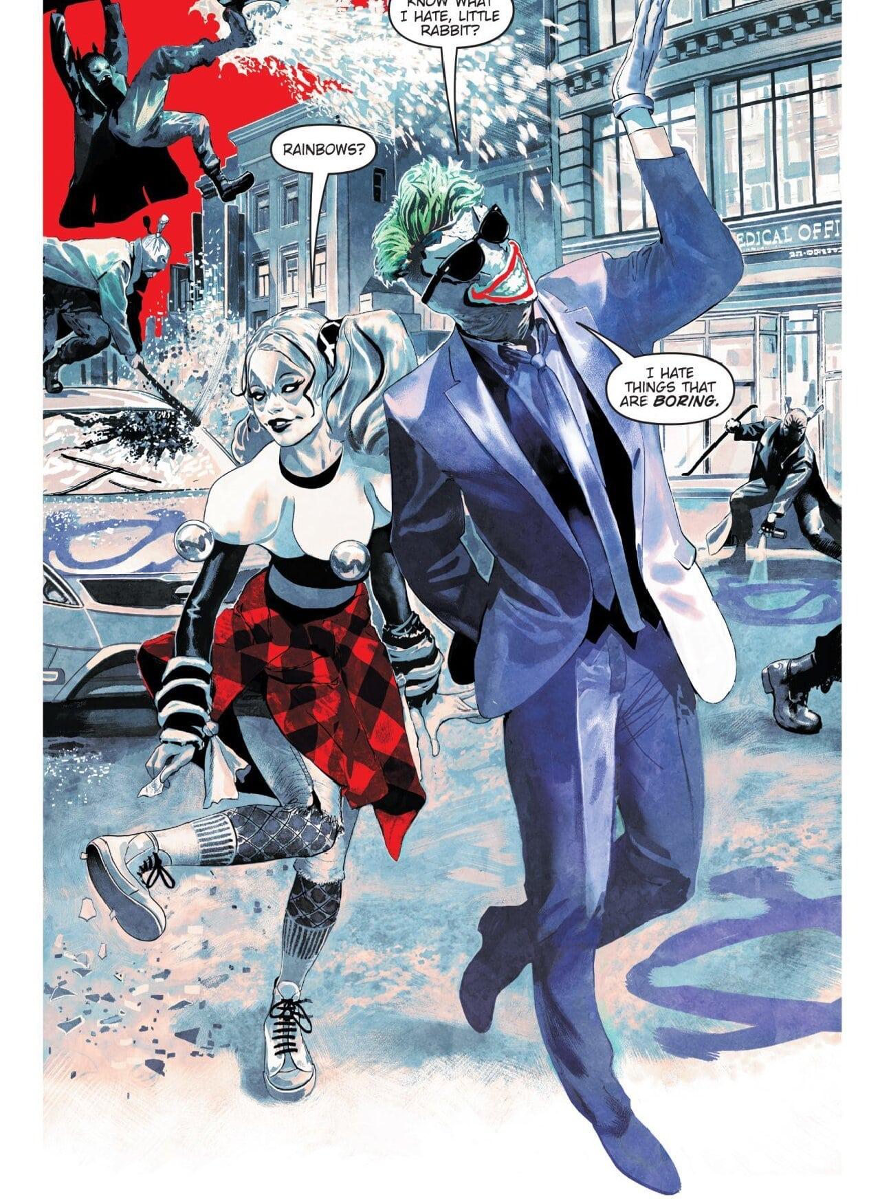 harley quinn mariko tamaki comics
