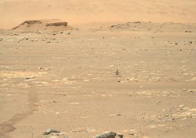 Primer Vuelo Marte NASA Perseverance Ingenuity