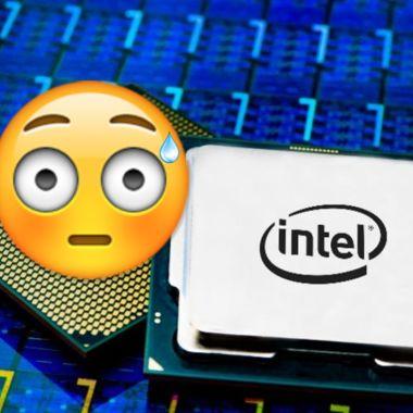 Intel comete un error al promocionar su nueva CPU con una Macbook