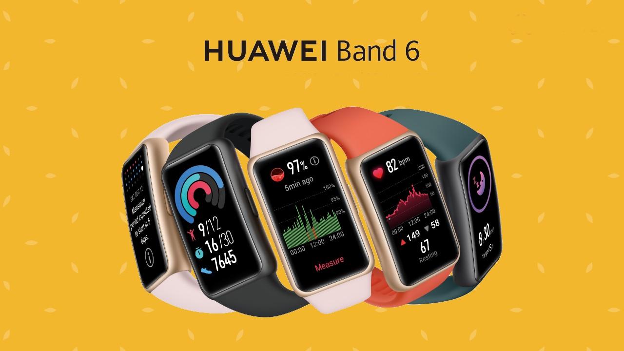 La Huawei Band 6 ya está disponible en México