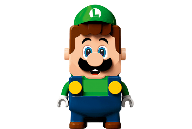 Lego Mario Bros. Set de Lego de Luigi Adventures with Luigi Starter Course