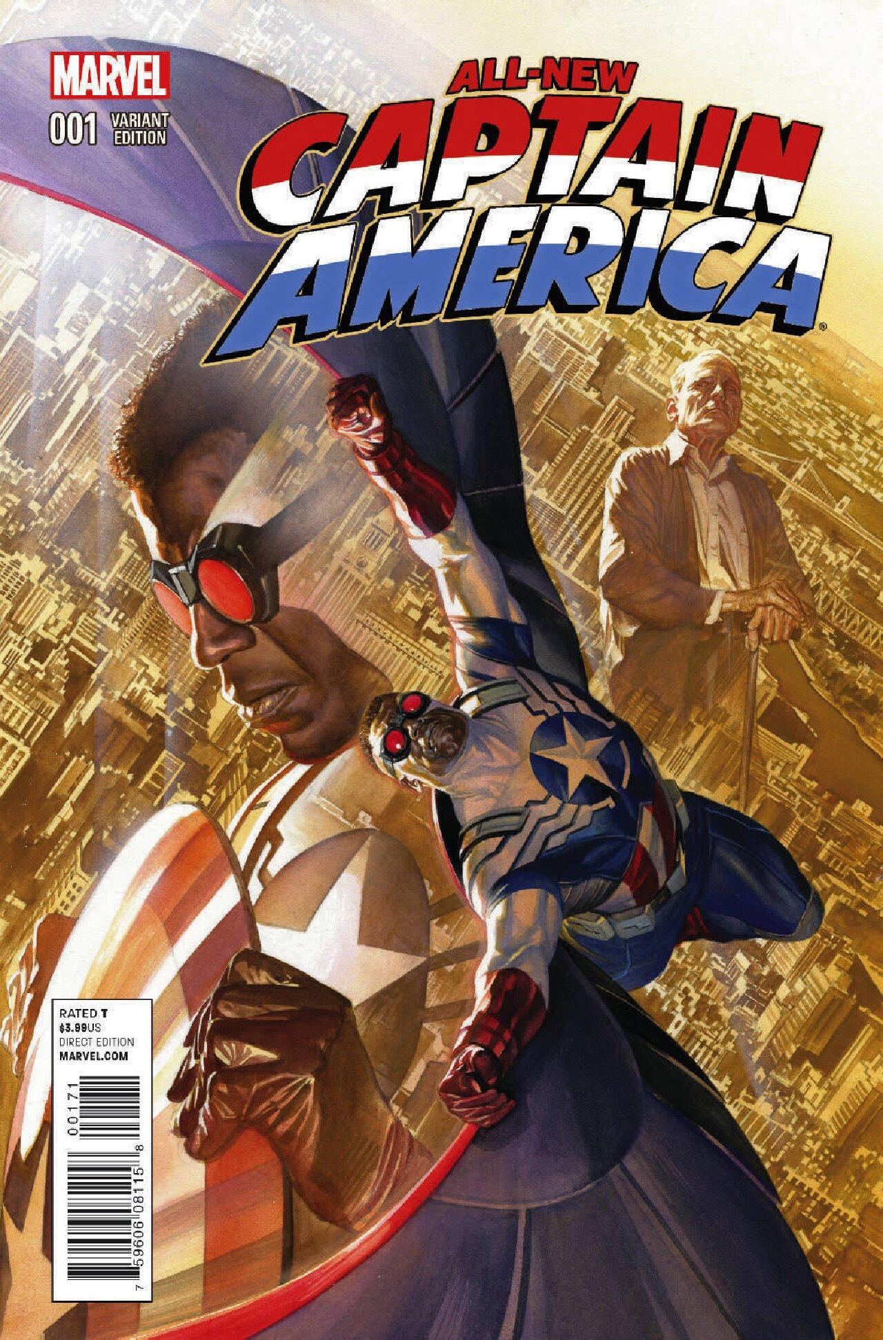 capitán américa cómics primera aparición sam wilson